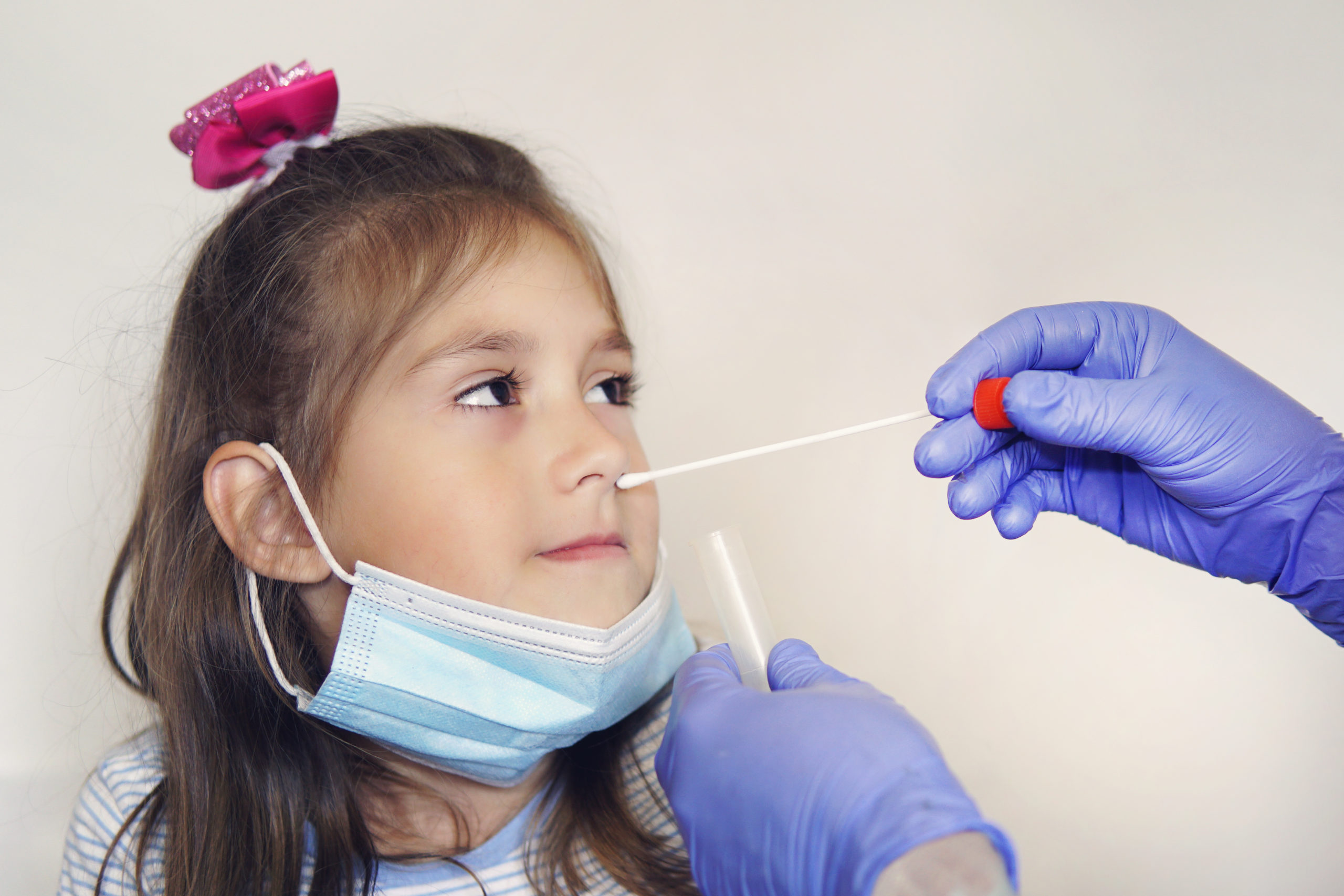 Koronavírus teszt gyerekeknek a gyakorlatban